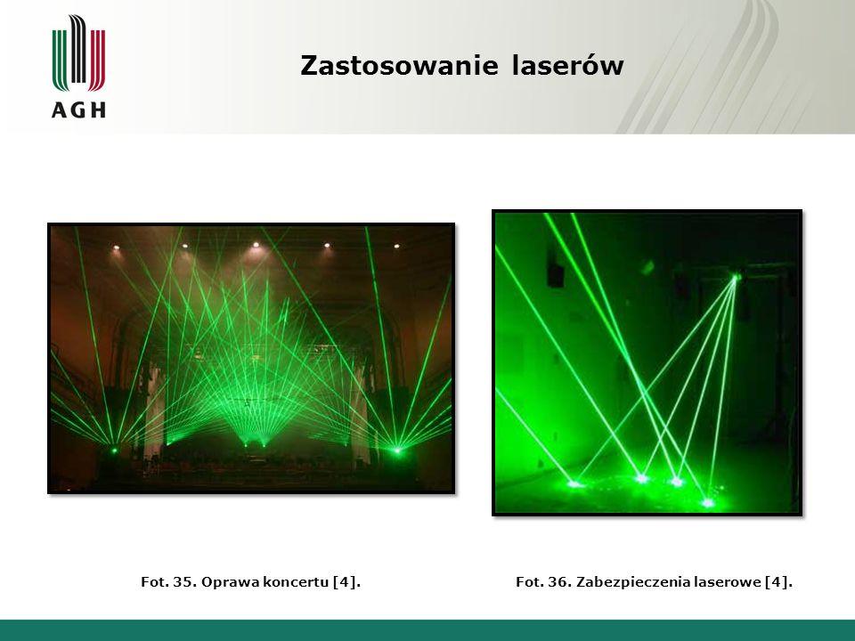 Fot. 36. Zabezpieczenia laserowe [4].